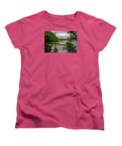 Peaceful Evening Women's T-Shirt (Standard Cut) by Alana Thrower