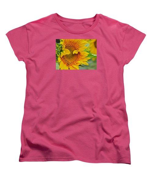 Peek A Boo Women's T-Shirt (Standard Cut)