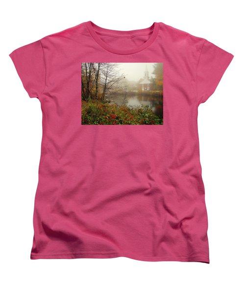 Foggy Glimpse Women's T-Shirt (Standard Cut) by Betsy Zimmerli