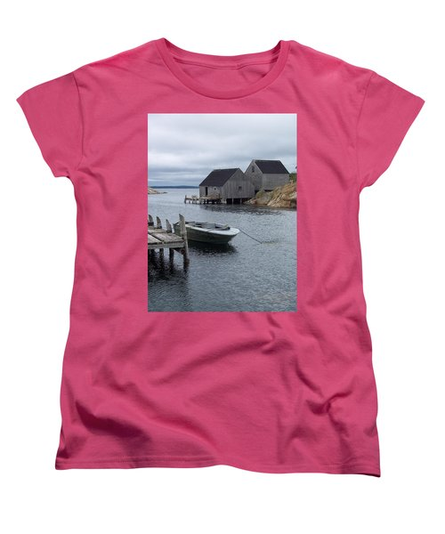 Women's T-Shirt (Standard Cut) featuring the photograph Peggys Cove Canada by Richard Bryce and Family