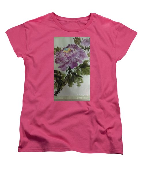 Peony20170126_1 Women's T-Shirt (Standard Cut) by Dongling Sun