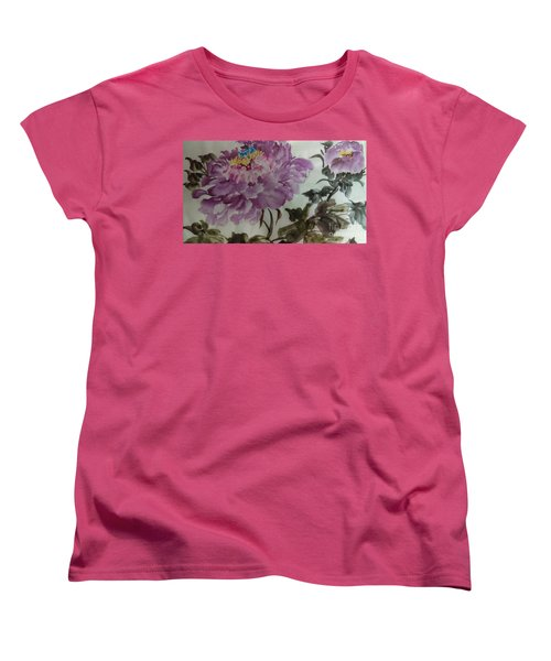Peony20170213_1 Women's T-Shirt (Standard Cut) by Dongling Sun