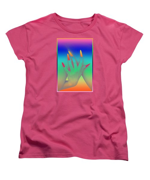 Personal Touch Women's T-Shirt (Standard Cut) by Tbone Oliver