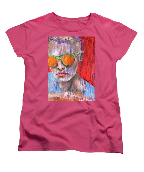 Peta Women's T-Shirt (Standard Cut) by P J Lewis