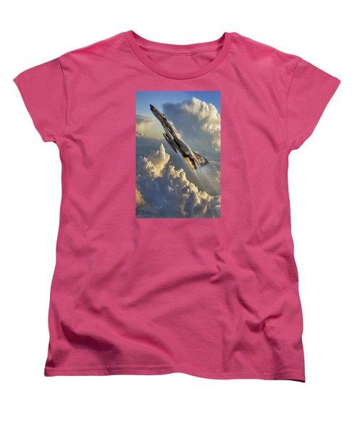 Phantom Cloud Break Women's T-Shirt (Standard Cut) by Peter Chilelli