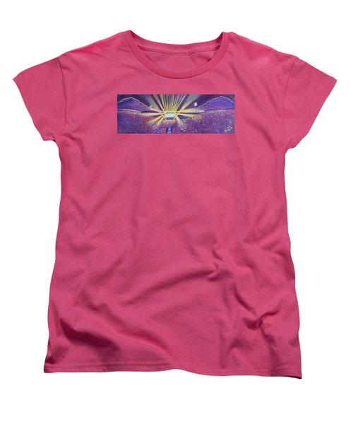 Phish At Dicks 2016 Women's T-Shirt (Standard Cut) by David Sockrider