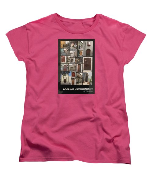Photograph Women's T-Shirt (Standard Cut) by Lucia Grilletto