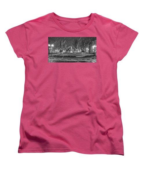 Piazza Solferino In Winter-1 Women's T-Shirt (Standard Cut)