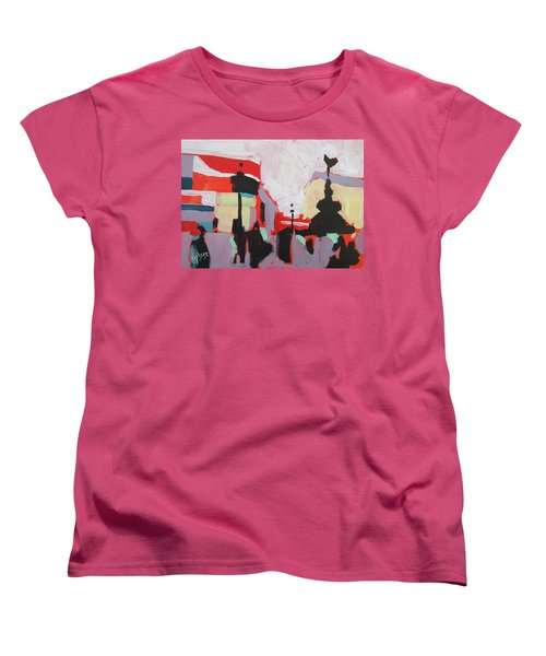 Piccadilly Circus Women's T-Shirt (Standard Fit)