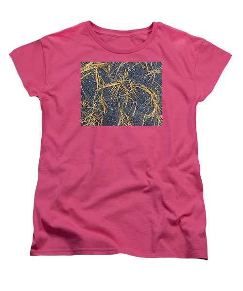 Pine Needles Women's T-Shirt (Standard Cut)