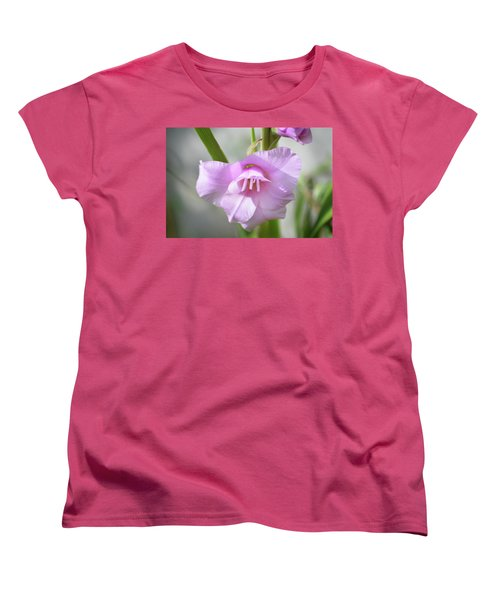 Women's T-Shirt (Standard Cut) featuring the photograph Pink Blush by Terence Davis