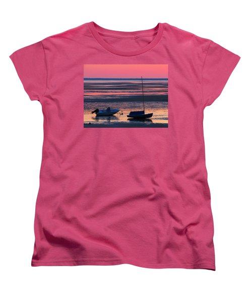 Women's T-Shirt (Standard Cut) featuring the photograph Pink Dawn by Dianne Cowen
