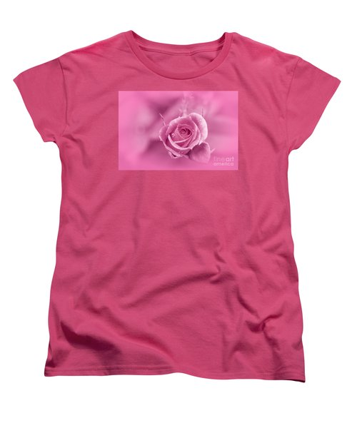 Pink Dream Women's T-Shirt (Standard Cut) by Charuhas Images