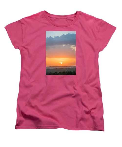 Pink Hues Women's T-Shirt (Standard Cut) by Parker Cunningham