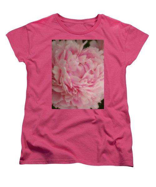 Pink Peony Women's T-Shirt (Standard Cut)