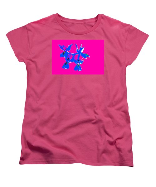 Pink Provence Orchid Women's T-Shirt (Standard Cut) by Richard Patmore