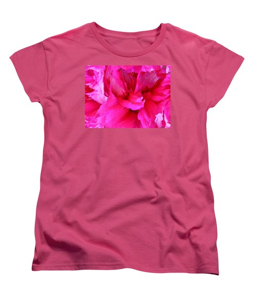 Pink Splash Women's T-Shirt (Standard Cut) by Kristin Elmquist