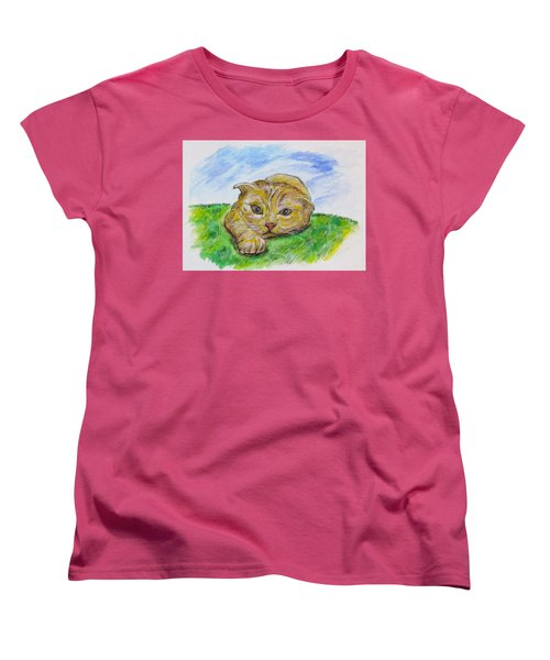 Play With Me Women's T-Shirt (Standard Cut) by Clyde J Kell