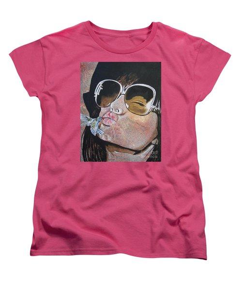 Ponce De Leon Women's T-Shirt (Standard Cut) by Stuart Engel