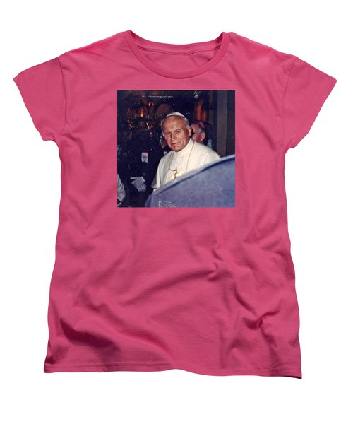 Pope John Paul Ll November 1, 1979 Women's T-Shirt (Standard Cut)