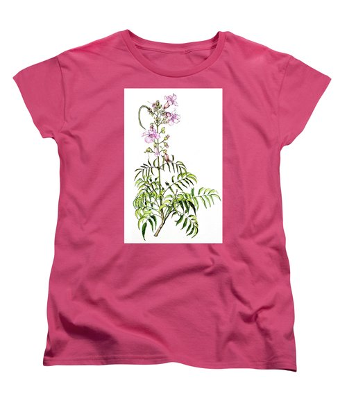 Women's T-Shirt (Standard Cut) featuring the painting Port St John's Creeper by Heidi Kriel