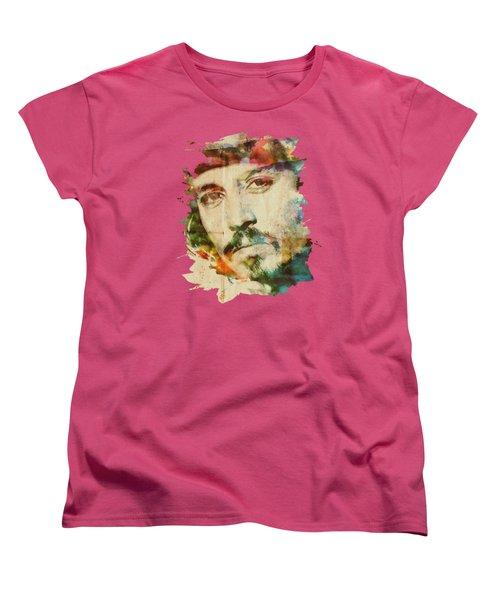 Portrait Of Johnny Women's T-Shirt (Standard Cut)
