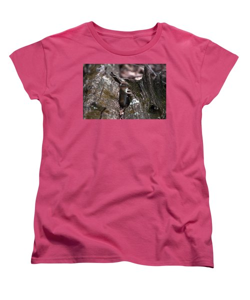 Posing #1 Women's T-Shirt (Standard Cut) by Jeff Severson