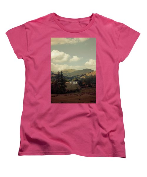 Postcards From Scotland Women's T-Shirt (Standard Cut) by Jaroslaw Blaminsky