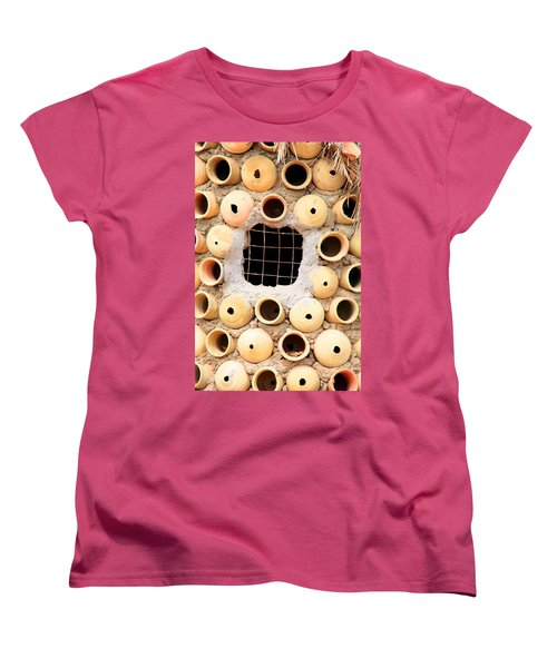 Potted View Women's T-Shirt (Standard Cut) by Jez C Self