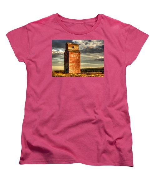 Prairie Sentinel Women's T-Shirt (Standard Cut) by Wayne Sherriff