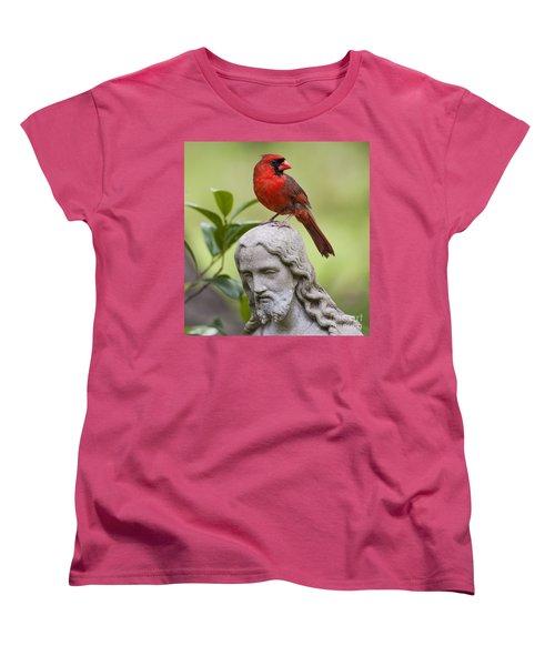 Praise The Lord Women's T-Shirt (Standard Cut) by Bonnie Barry