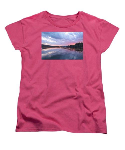 Pretty In Pink Women's T-Shirt (Standard Cut) by Angelo Marcialis