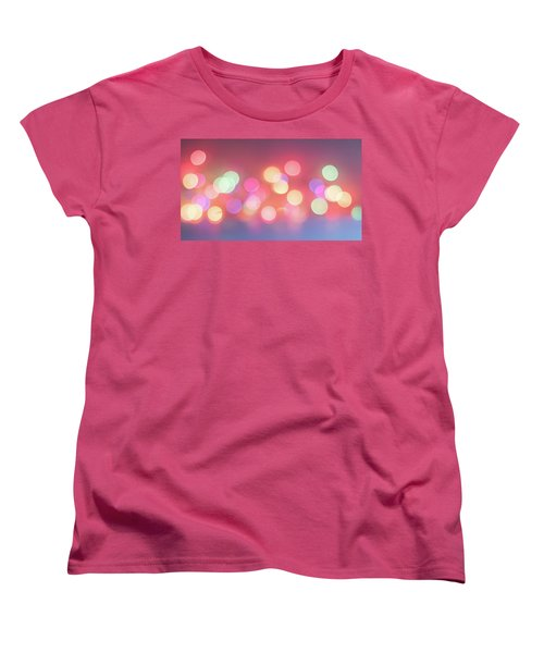 Pretty Pastels Abstract Women's T-Shirt (Standard Cut) by Terry DeLuco