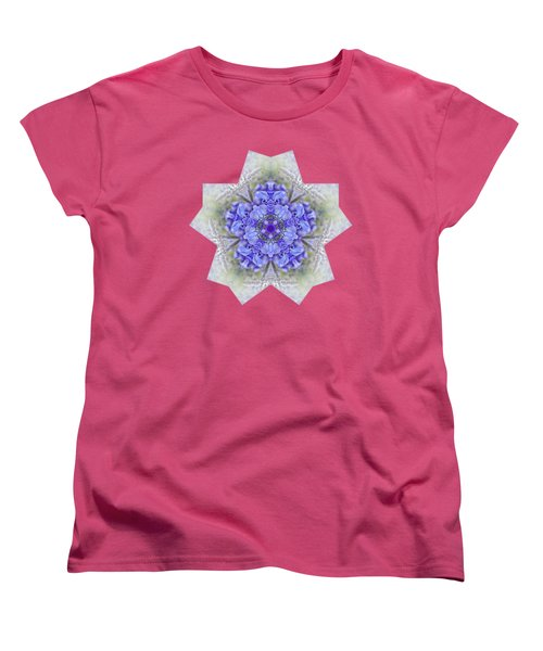 Pretty Wisteria Kaleidoscope By Kaye Menner Women's T-Shirt (Standard Cut) by Kaye Menner