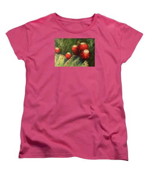 Prickly Pear IIi Women's T-Shirt (Standard Cut) by Torrie Smiley