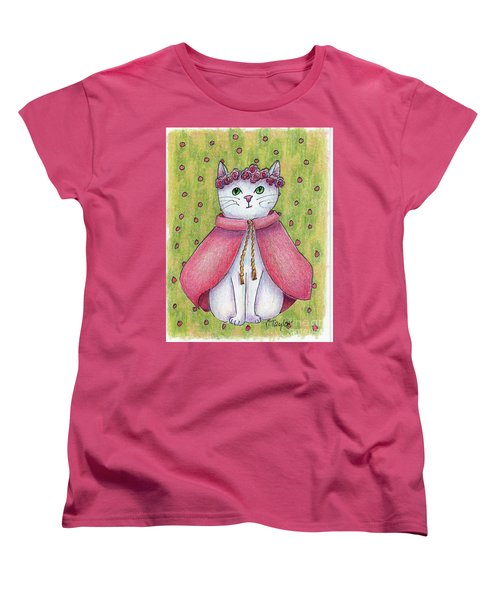 Women's T-Shirt (Standard Cut) featuring the drawing Princess by Terry Taylor