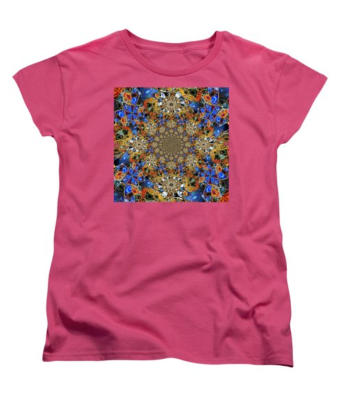 Prismatic Glasswork Women's T-Shirt (Standard Cut) by Nick Heap