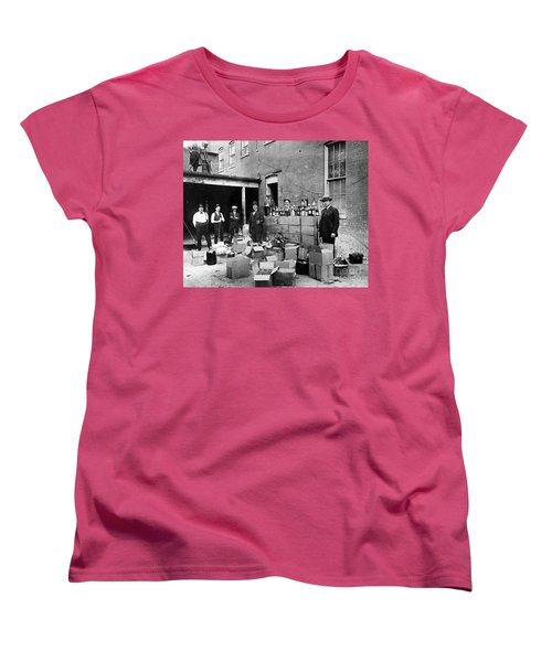 Prohibition, 1922 Women's T-Shirt (Standard Cut) by Granger