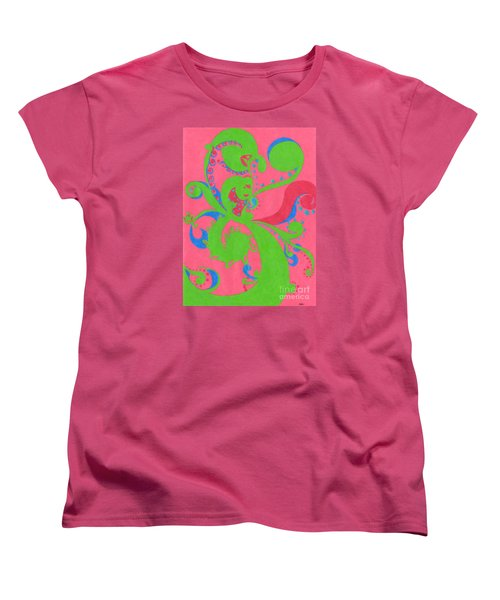 Women's T-Shirt (Standard Cut) featuring the drawing Prosperity by Kim Sy Ok