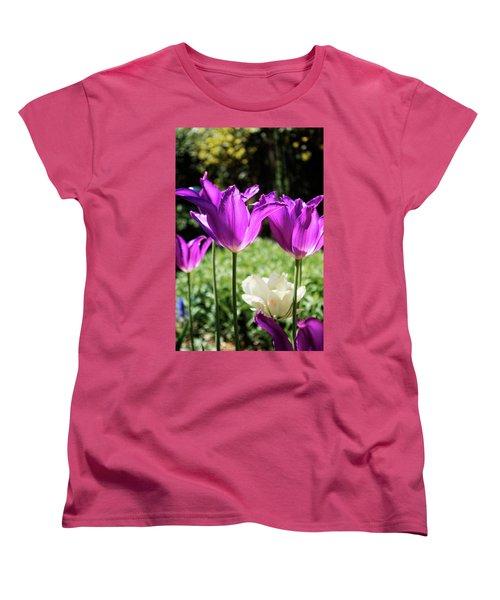 Purple Cups Women's T-Shirt (Standard Cut)