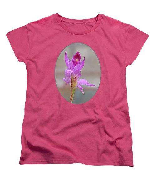 Purple Delight Women's T-Shirt (Standard Cut) by Gill Billington