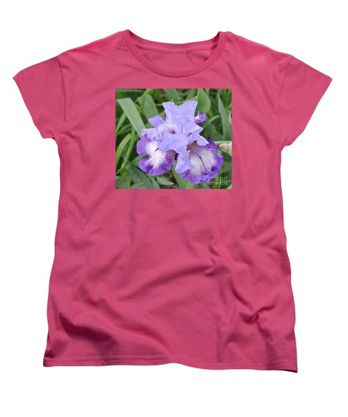 Purple Love Women's T-Shirt (Standard Cut) by Marsha Heiken