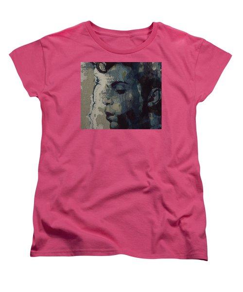 Purple Rain - Prince Women's T-Shirt (Standard Cut)