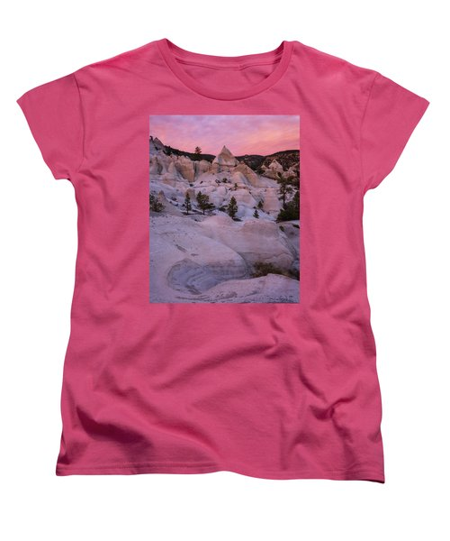 Women's T-Shirt (Standard Cut) featuring the photograph Pyramids  by Dustin LeFevre