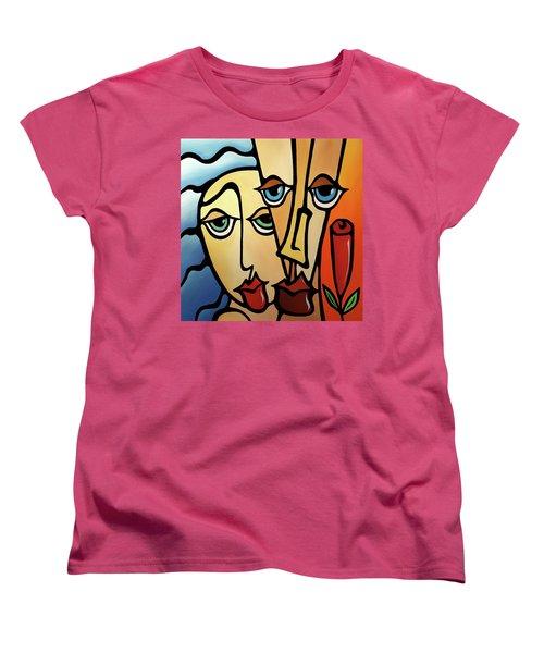 Quality Time Women's T-Shirt (Standard Cut) by Tom Fedro - Fidostudio