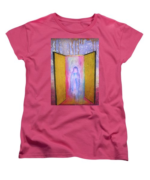 Queen Of Heaven Women's T-Shirt (Standard Cut) by Mary Ellen Frazee