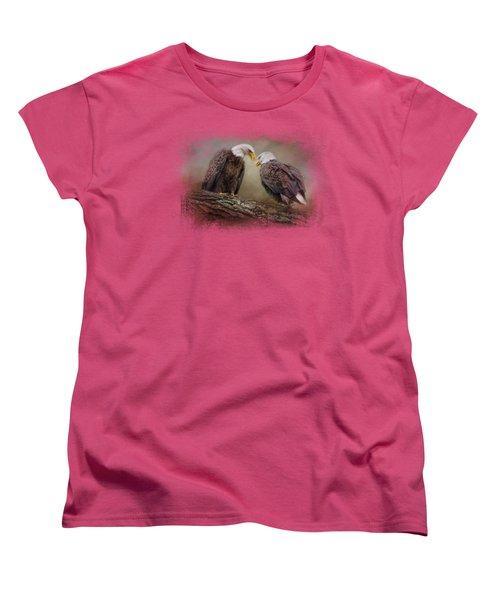Quiet Conversation Women's T-Shirt (Standard Cut) by Jai Johnson
