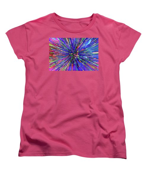 Women's T-Shirt (Standard Cut) featuring the photograph Rabbit Hole by Tony Beck