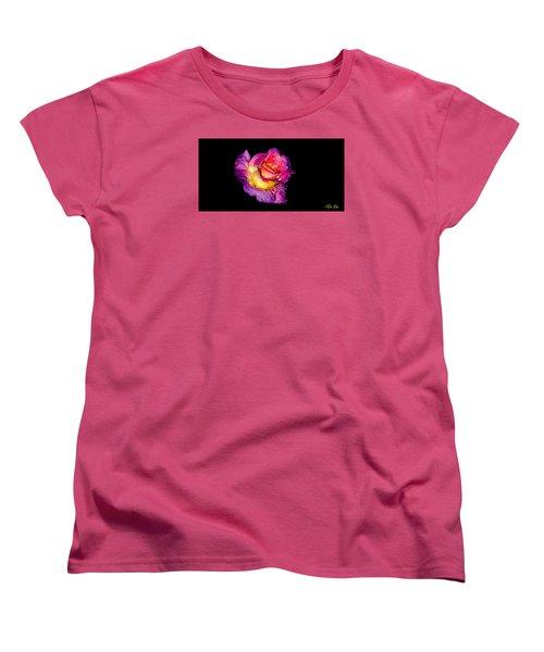 Rain-melted Rose Women's T-Shirt (Standard Cut)
