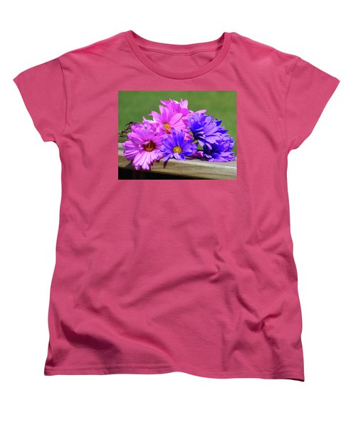 Rainbow Mums 2 Of 5 Women's T-Shirt (Standard Cut) by Tina M Wenger